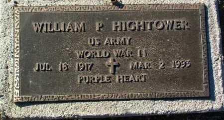 HIGHTOWER, WILLIAM P. - Yavapai County, Arizona   WILLIAM P. HIGHTOWER - Arizona Gravestone Photos