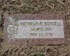 HILTENBRANDT BONNELL, K. - Yavapai County, Arizona | K. HILTENBRANDT BONNELL - Arizona Gravestone Photos