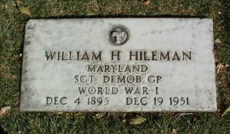 HILEMAN, WILLIAM H. - Yavapai County, Arizona | WILLIAM H. HILEMAN - Arizona Gravestone Photos