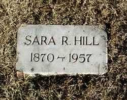 WILSON HILL, SARA R. - Yavapai County, Arizona | SARA R. WILSON HILL - Arizona Gravestone Photos