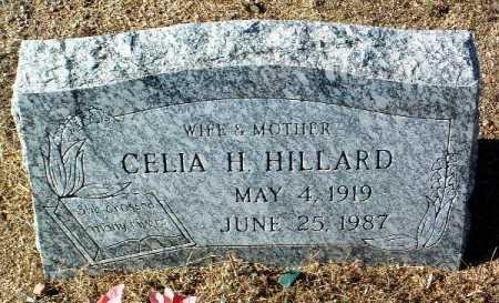 HILLARD, CELIA H. - Yavapai County, Arizona | CELIA H. HILLARD - Arizona Gravestone Photos
