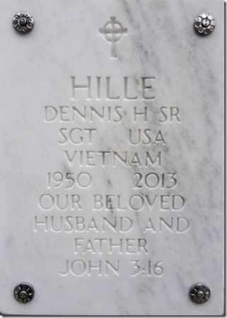 HILLE, DENNIS HOWARD, SR. - Yavapai County, Arizona | DENNIS HOWARD, SR. HILLE - Arizona Gravestone Photos