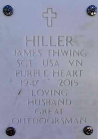 HILLER, JAMES THWING - Yavapai County, Arizona | JAMES THWING HILLER - Arizona Gravestone Photos
