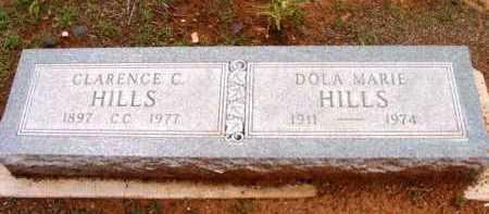 HILLS, CLARENCE CLAYTON - Yavapai County, Arizona | CLARENCE CLAYTON HILLS - Arizona Gravestone Photos