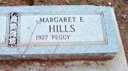 HILLS, MARGARET E. (PEGGY) - Yavapai County, Arizona | MARGARET E. (PEGGY) HILLS - Arizona Gravestone Photos