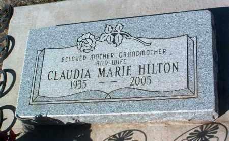 HILTON, CLAUDIA MARIE - Yavapai County, Arizona | CLAUDIA MARIE HILTON - Arizona Gravestone Photos