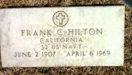 HILTON, FRANK C. - Yavapai County, Arizona | FRANK C. HILTON - Arizona Gravestone Photos