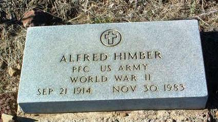 HIMBER, ALFRED - Yavapai County, Arizona | ALFRED HIMBER - Arizona Gravestone Photos