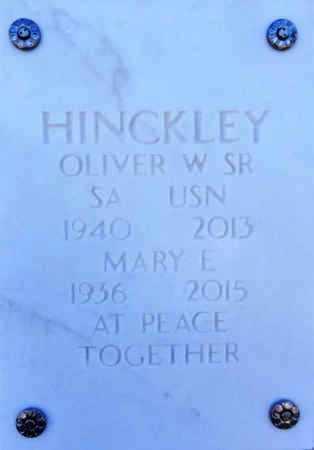 HINCKLEY, MARY E. - Yavapai County, Arizona | MARY E. HINCKLEY - Arizona Gravestone Photos