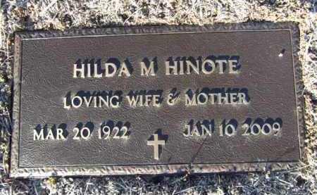 HINOTE, HILDA MARIE - Yavapai County, Arizona | HILDA MARIE HINOTE - Arizona Gravestone Photos