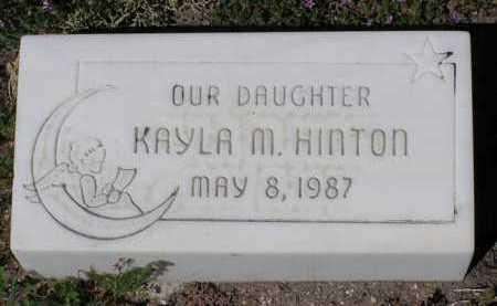 HINTON, KAYLA M. - Yavapai County, Arizona   KAYLA M. HINTON - Arizona Gravestone Photos