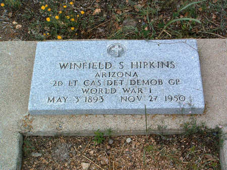 HIPKINS, WINFIELD SCOTT - Yavapai County, Arizona | WINFIELD SCOTT HIPKINS - Arizona Gravestone Photos