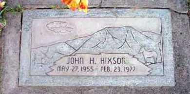 HIXSON, JOHN HARVEY - Yavapai County, Arizona   JOHN HARVEY HIXSON - Arizona Gravestone Photos