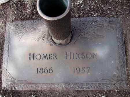 HIXSON, HOMER - Yavapai County, Arizona   HOMER HIXSON - Arizona Gravestone Photos