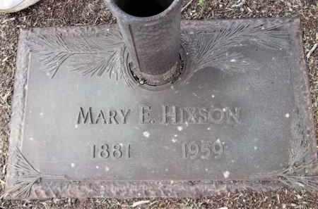 BOSLEY HIXSON, MARY E. - Yavapai County, Arizona | MARY E. BOSLEY HIXSON - Arizona Gravestone Photos