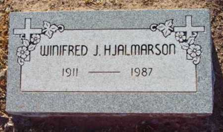 HJALMARSON, WINFRED - Yavapai County, Arizona | WINFRED HJALMARSON - Arizona Gravestone Photos