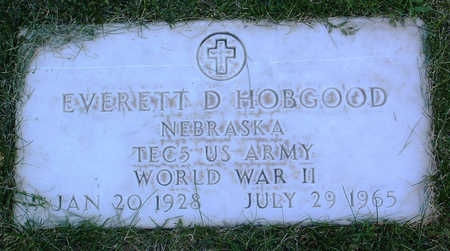 HOBGOOD, EVERETT  D. - Yavapai County, Arizona | EVERETT  D. HOBGOOD - Arizona Gravestone Photos