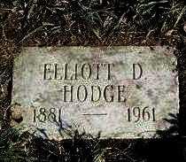 HODGE, ELLIOTT DENTON - Yavapai County, Arizona | ELLIOTT DENTON HODGE - Arizona Gravestone Photos