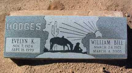 HODGES, WILLIAM L. (BILL) - Yavapai County, Arizona | WILLIAM L. (BILL) HODGES - Arizona Gravestone Photos
