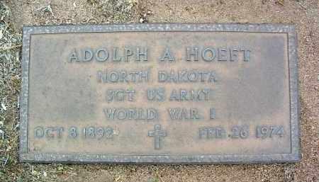 HOEFT, ADOLPH A. - Yavapai County, Arizona | ADOLPH A. HOEFT - Arizona Gravestone Photos