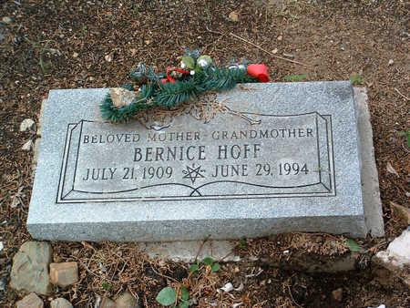 HOFF, BERNICE - Yavapai County, Arizona | BERNICE HOFF - Arizona Gravestone Photos