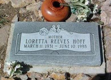 HOFF, LORETTA - Yavapai County, Arizona | LORETTA HOFF - Arizona Gravestone Photos