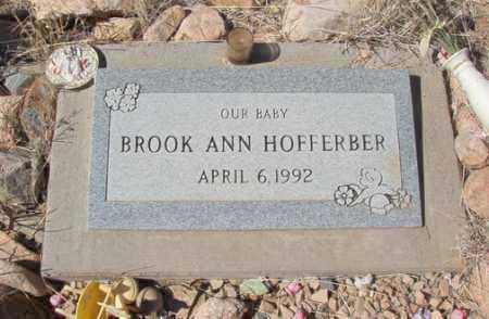 HOFFERBER, BROOK ANN - Yavapai County, Arizona | BROOK ANN HOFFERBER - Arizona Gravestone Photos