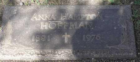 HOFFMAN, ANNA - Yavapai County, Arizona | ANNA HOFFMAN - Arizona Gravestone Photos