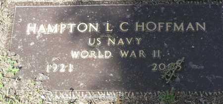 HOFFMAN, HAMPTON L. C. - Yavapai County, Arizona | HAMPTON L. C. HOFFMAN - Arizona Gravestone Photos
