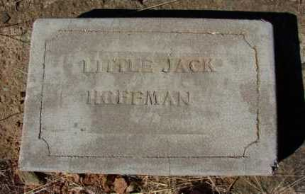 HOFFMAN, LITTLE JACK - Yavapai County, Arizona | LITTLE JACK HOFFMAN - Arizona Gravestone Photos