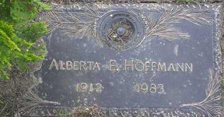 HOFFMANN, ALBERTA E. - Yavapai County, Arizona | ALBERTA E. HOFFMANN - Arizona Gravestone Photos