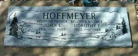 HOFFMEYER, JOHN LOUIS - Yavapai County, Arizona   JOHN LOUIS HOFFMEYER - Arizona Gravestone Photos