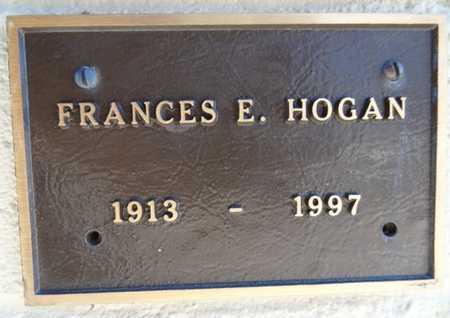 HOGAN, FRANCES HENRIETTA - Yavapai County, Arizona   FRANCES HENRIETTA HOGAN - Arizona Gravestone Photos