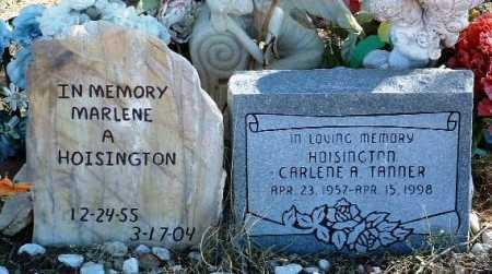HOISINGTON, MARLENE A. - Yavapai County, Arizona   MARLENE A. HOISINGTON - Arizona Gravestone Photos