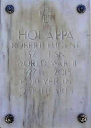 HOLAPPA, ROBERT EUGENE - Yavapai County, Arizona | ROBERT EUGENE HOLAPPA - Arizona Gravestone Photos