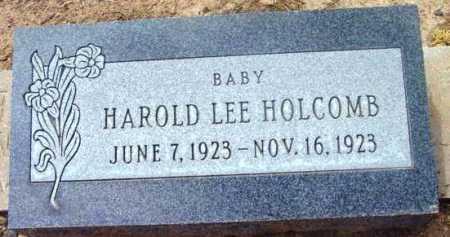 HOLCOMB, HAROLD LEE  (BABY) - Yavapai County, Arizona | HAROLD LEE  (BABY) HOLCOMB - Arizona Gravestone Photos