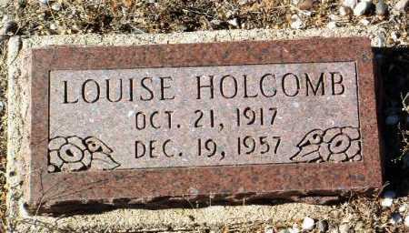 BROWN HOLCOMB, LOUISE - Yavapai County, Arizona   LOUISE BROWN HOLCOMB - Arizona Gravestone Photos