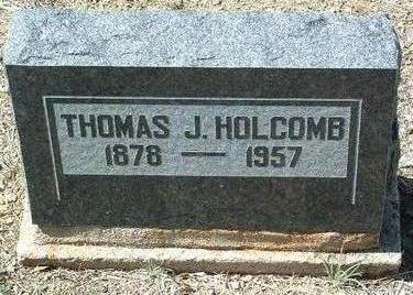 HOLCOMB, THOMAS J. - Yavapai County, Arizona | THOMAS J. HOLCOMB - Arizona Gravestone Photos