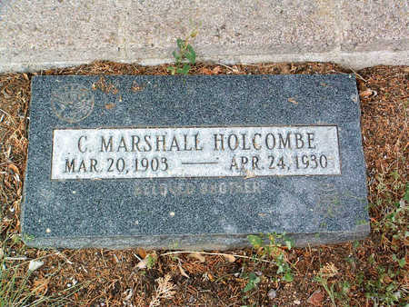 HOLCOMBE, C. MARSHALL - Yavapai County, Arizona | C. MARSHALL HOLCOMBE - Arizona Gravestone Photos