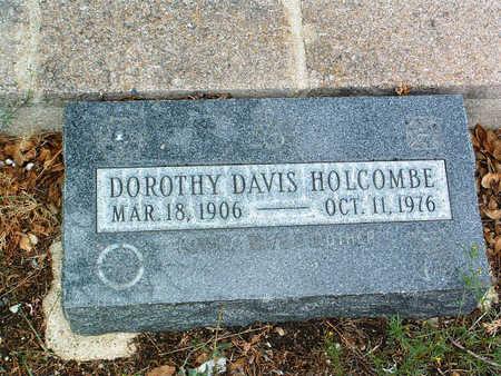 DAVIS HOLCOMBE, DOROTHY - Yavapai County, Arizona | DOROTHY DAVIS HOLCOMBE - Arizona Gravestone Photos