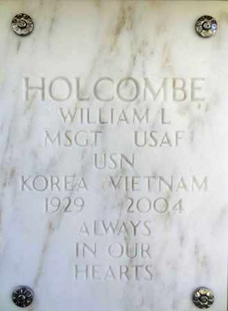HOLCOMBE, WILLIAM L. - Yavapai County, Arizona | WILLIAM L. HOLCOMBE - Arizona Gravestone Photos