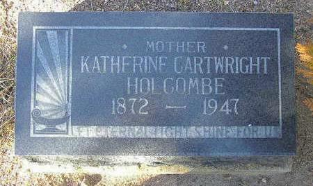 HOLCOMBE, KATHERINE - Yavapai County, Arizona | KATHERINE HOLCOMBE - Arizona Gravestone Photos