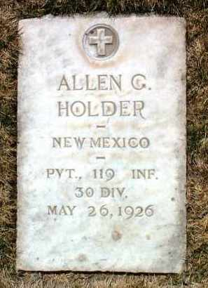 HOLDER, ALLEN GILMORE - Yavapai County, Arizona | ALLEN GILMORE HOLDER - Arizona Gravestone Photos