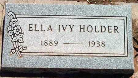 HOLDER, ELLA IVY - Yavapai County, Arizona | ELLA IVY HOLDER - Arizona Gravestone Photos