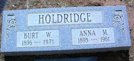 HOLDRIDGE, BURT WESLEY - Yavapai County, Arizona   BURT WESLEY HOLDRIDGE - Arizona Gravestone Photos