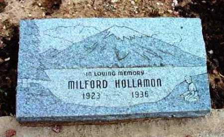 HOLLAMON, MILFORD - Yavapai County, Arizona   MILFORD HOLLAMON - Arizona Gravestone Photos