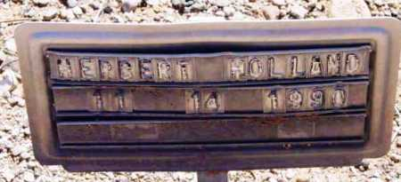 HOLLAND, HERBERT - Yavapai County, Arizona | HERBERT HOLLAND - Arizona Gravestone Photos