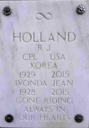 HOLLAND, RONALD J. - Yavapai County, Arizona | RONALD J. HOLLAND - Arizona Gravestone Photos