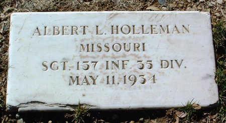 HOLLEMAN, ALBERT L. - Yavapai County, Arizona   ALBERT L. HOLLEMAN - Arizona Gravestone Photos