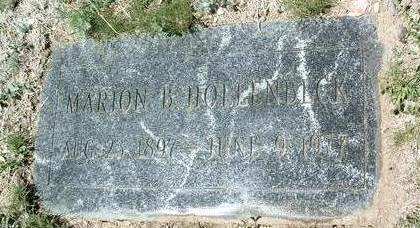 HOLLENBECK, MARION B. - Yavapai County, Arizona | MARION B. HOLLENBECK - Arizona Gravestone Photos